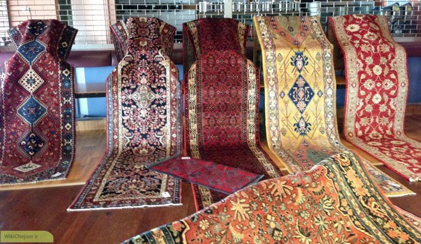 قالی از نظر اندازه