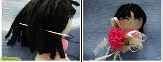 چگونه یک عروسک جورابی ساده درست کنیم ؟