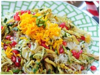 چگونه انار پلو شیرازی بپزم؟