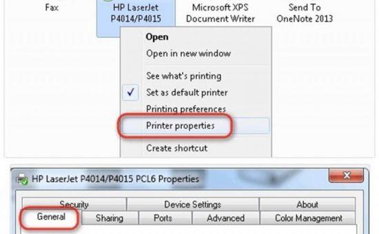 چگونگی پی بردن به IP چاپگر موجود در یک شبکه