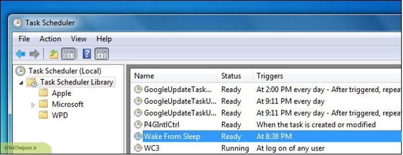 چگونه رایانه خود را به صورت خودکار از حالت Sleep خارج کنیم