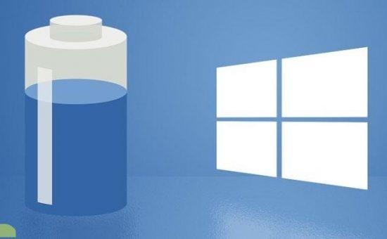 چگونگی کاهش میزان مصرف باتری لپتاپ و تبلت در ویندوز ۱۰