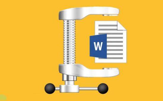 چگونه حجم فایل های Word که دارای تصاویر هستند را کم کنیم؟