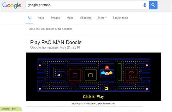 چگونه بازی های مخفی گوگل، اندروید و کروم را پیدا کنیم ؟