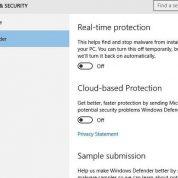 چگونگی عدم نمایش پیغام،پاک کردن،غیر فعال کرن آپدیت ویندوز دفندر ( Windows Defender) ویندوز ۱۰