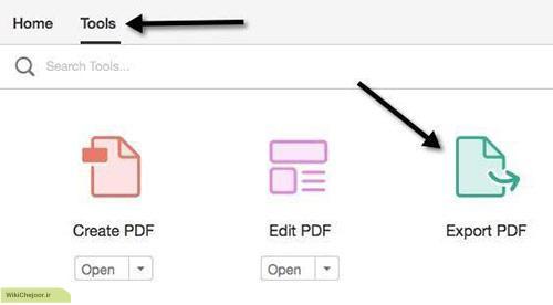 چگونه با استفاده از Adobe Acrobat Pro عکس های PDF را جدا کنیم؟