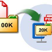 چگونه حجم فایل پی دی اف را کاهش دهیم