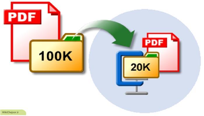 چگونه حجم فایل پی دی اف را کاهش دهیم ؟