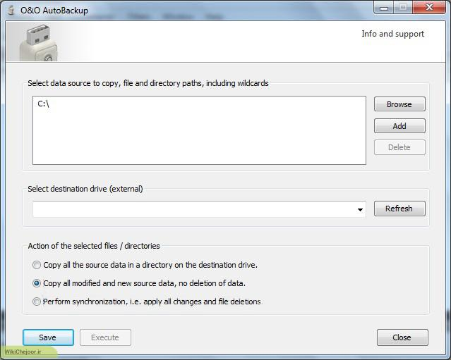 چگونگی بکاپ گیری از فایل های مهم با استفاده از USB