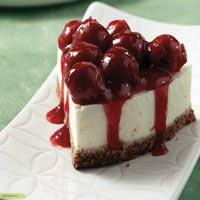 Cheesecake-me-saltsa-vussino