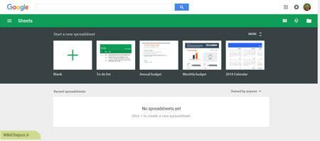 Google Sheets 01
