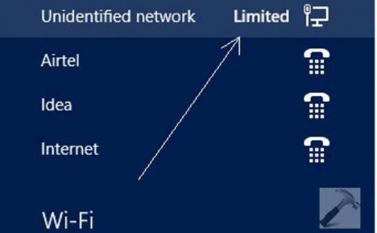 چگونه حل مشکل  Limited در اتصال به اینترنت