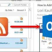 چگونه Microsoft Outlook به یک فیدخوان تبدیل کنیم ؟