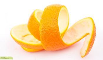 چگونه پوست پرتقال سبب سلامتی می شود؟