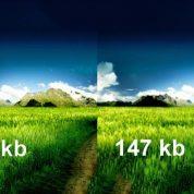 چگونه حجم عکس را به سادگی کم کنیم؟
