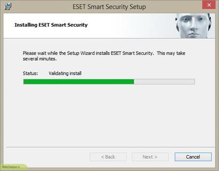 ادامه فرآیند نصب آنتی ویروس