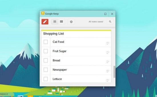 چگونه افزونه گوگل کیپ برای مرورگر کروم اضافه کنیم ؟