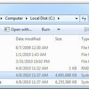 چگونه فایل hiberfil.sys را پاک کنیم؟