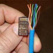 چگونه سوکت RJ45 به کابل شبکه اتصال بدیم ؟