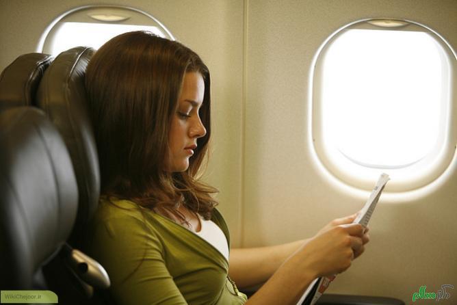 چگونه از حالت تهوع در هواپیما جلوگیری کنیم؟