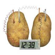 چگونه یک ساعت سیبزمینی بسازیم؟