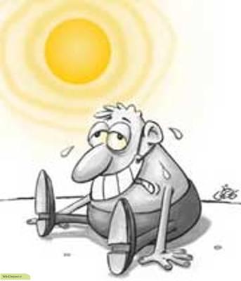 چگونه از عارضه گرمازدگی جلوگیری کنیم؟
