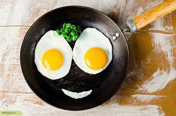 چگونه سالمترین راه برای پختن و خوردن تخم مرغ را بشناسیم؟