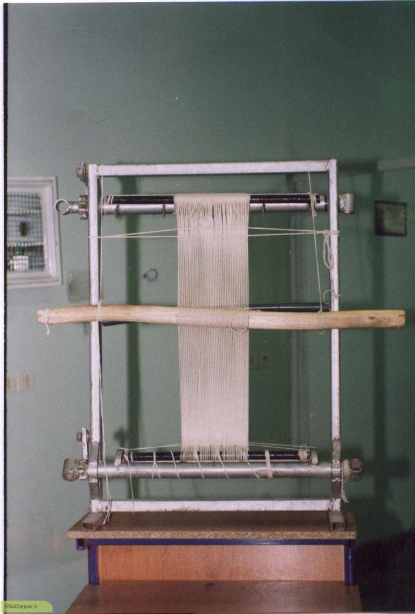 روش محاسبه تعداد تار های مورد نیاز برای چله کشی :