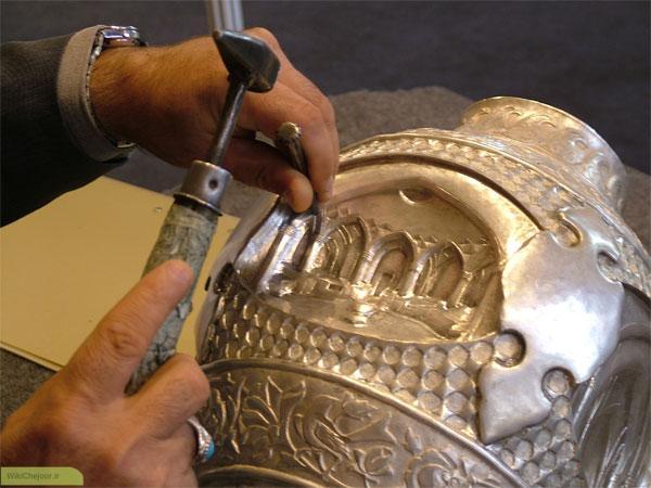پیشینه هنر قلمزنی در ایران