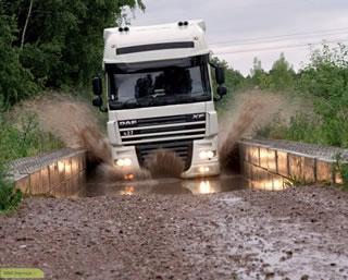 میزان درآمد راننده کامیون