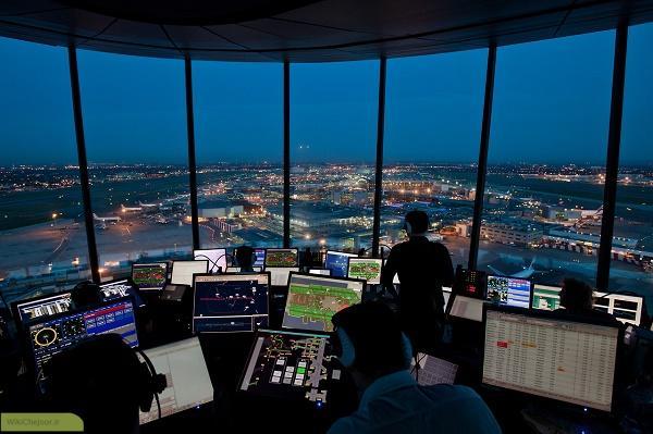 مراقبت پرواز به سه زیر مجموعه تخصصی عمده قابل تفکیک میباشد