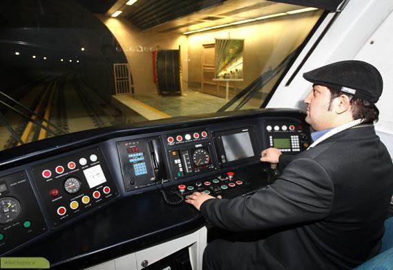 چگونه یک نفر راننده مترو می شود ؟؟