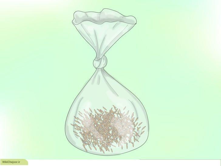 روش جداسازی بذر از گل