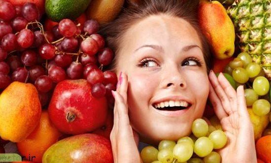 چگونه میوه ها باعث جوان ماندن پوست میشود؟