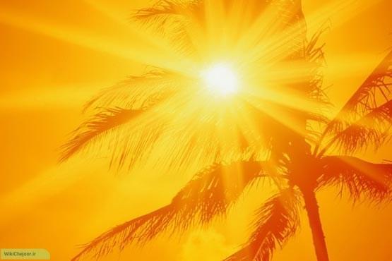 نور خورشید عامل اصلی در آفتاب سوختگی