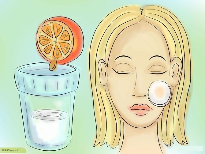 چگونه میتوان از پرتقال ماسک های متنوع درست کرد؟