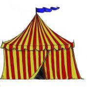 چگونه چادر سیرک رسم کنیم؟؟