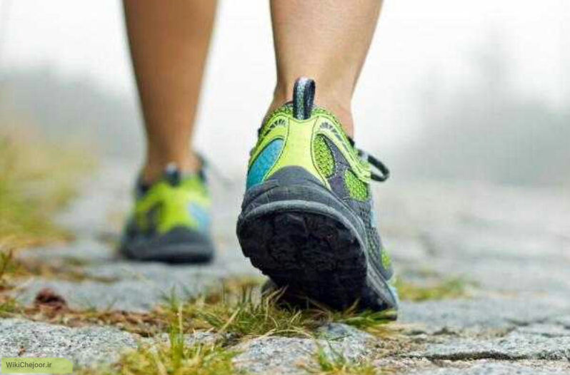 چگونه با پیاده روی استخوان های خود را تقویت کنیم