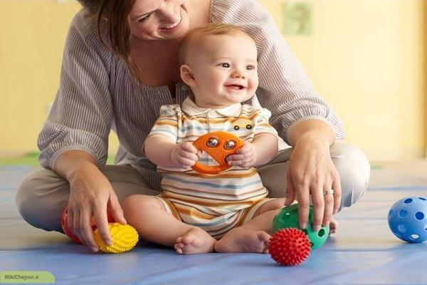 چگونه با فرزند یک تا دو ساله خود بازی کنیم؟؟