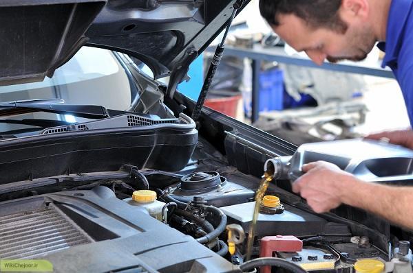 چگونه روغن ماشین را عوض کنیم؟