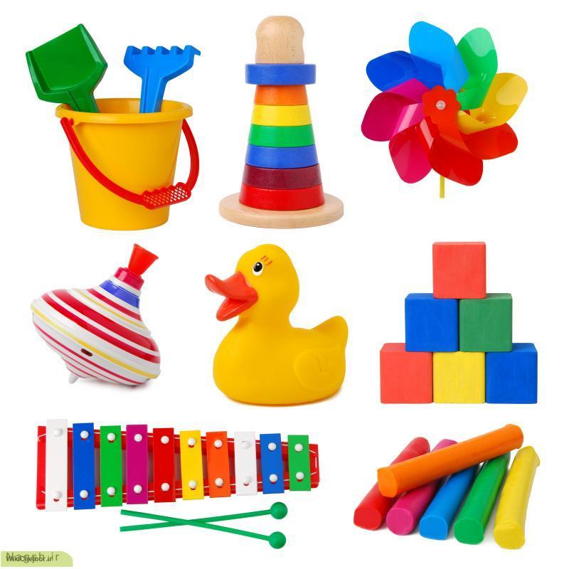 انتخاب اسباب بازی برای کودک:
