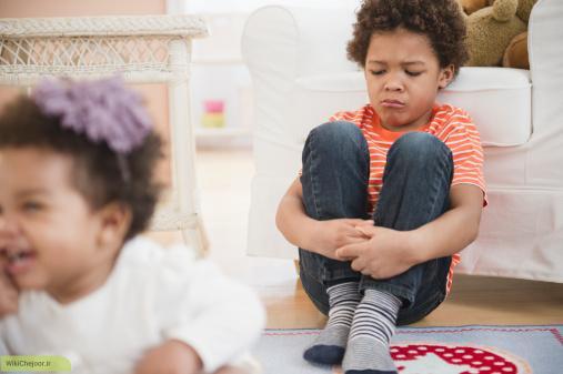 چگونه با کودکان حسود برخورد کنیم؟