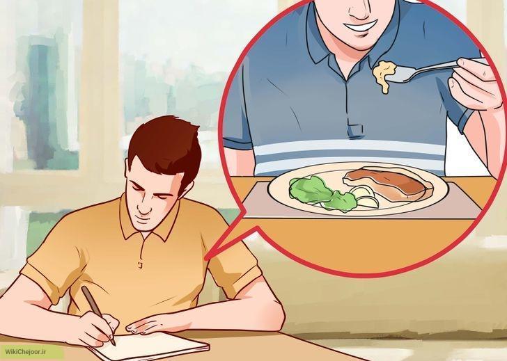 برنامه ریزی برای خوردن غذا!