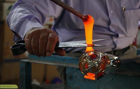 پیشینه شیشهگری در ایران