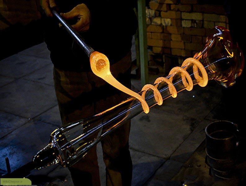 مواد و مصالح شیشهگری