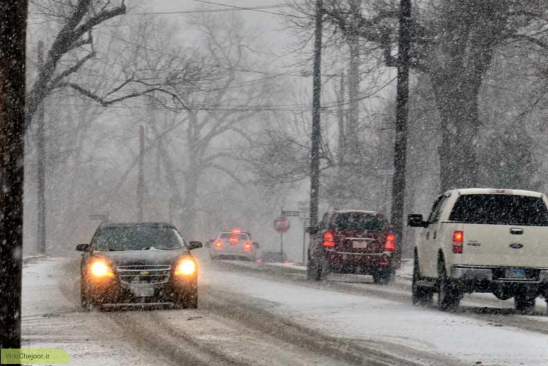 چگونه در برف و سرما رانندگی کنیم؟