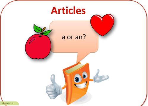 چگونه از حروف تعریف a , an در زبان انگلیسی استفاده کنیم؟
