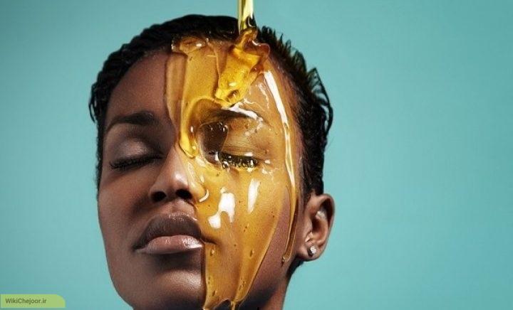 عسل برای روشن شدن پوست:
