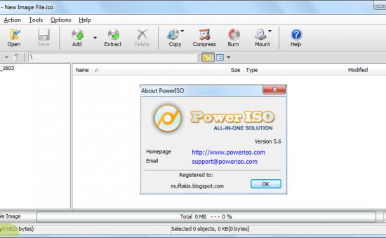 چگونه فرمت فایل های Bin  را با استفاده از نرم افزار Power Iso تبدیل کنیم
