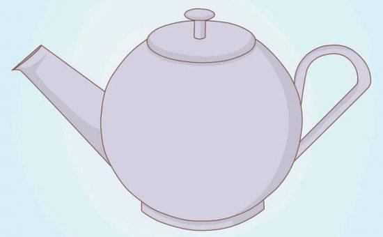 چگونه یک قوری چای رسم کنیم؟؟
